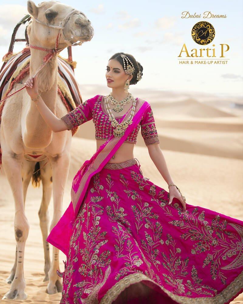 Aarti P presents Dubai dreams with Versace Dubai