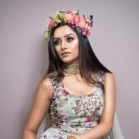 Aarti P Collaborated with Indian Celebrity Designer Astha Narang